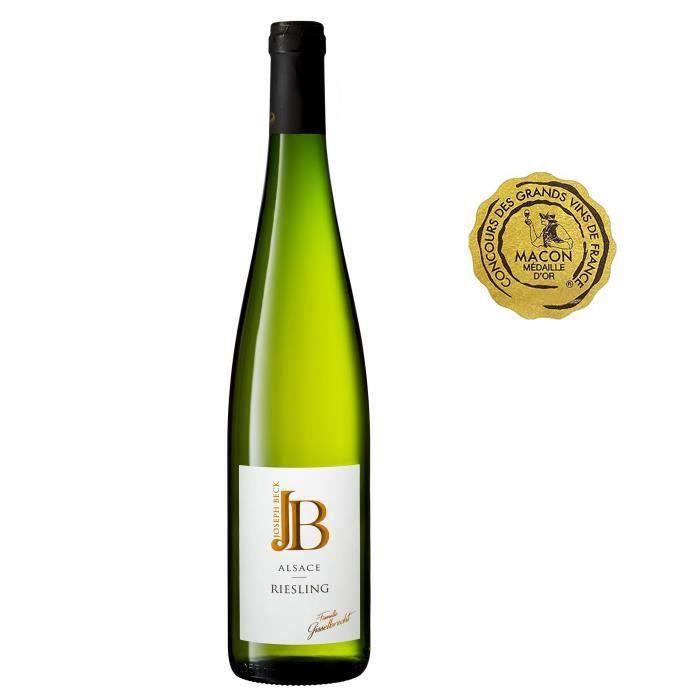 JOSEPH BECK 2019 Alsace Riesling - Vin blanc d'Alsace