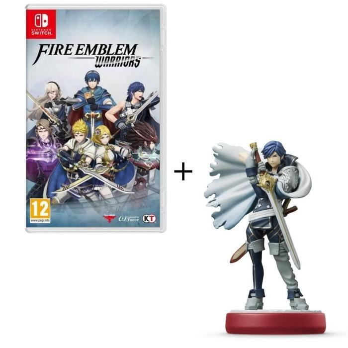 Fire Emblem Warriors Jeu Switch + Amiibo Chrom