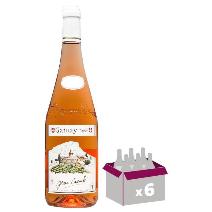 Maison Cavaillé Village 2017 Gamay rosé - Vin Rosé de Savoie