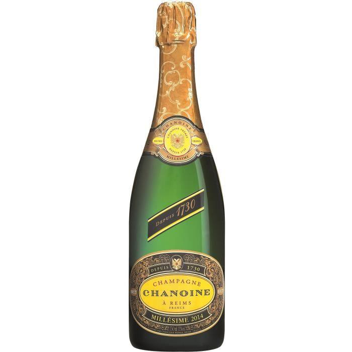 Champagne Chanoine Brut Millésimé 2014 - 75 cl
