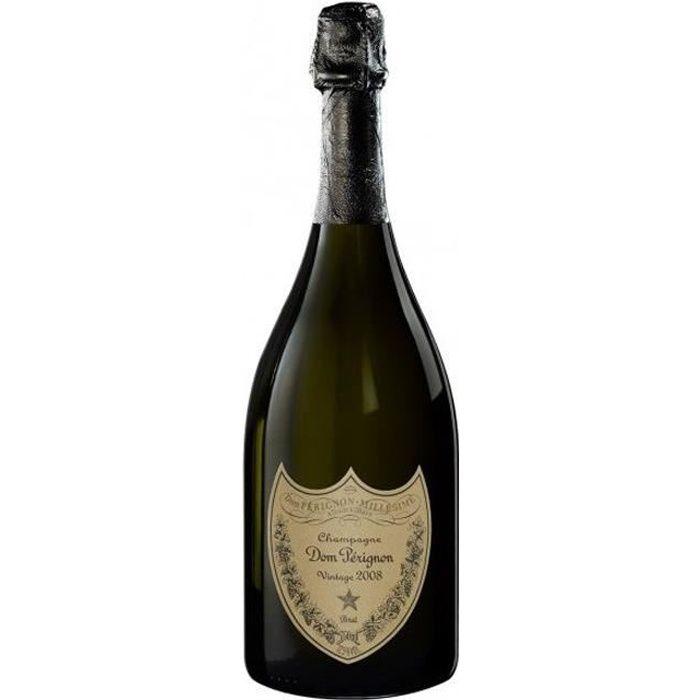 Champagne Dom Pérignon millésimé - 2008