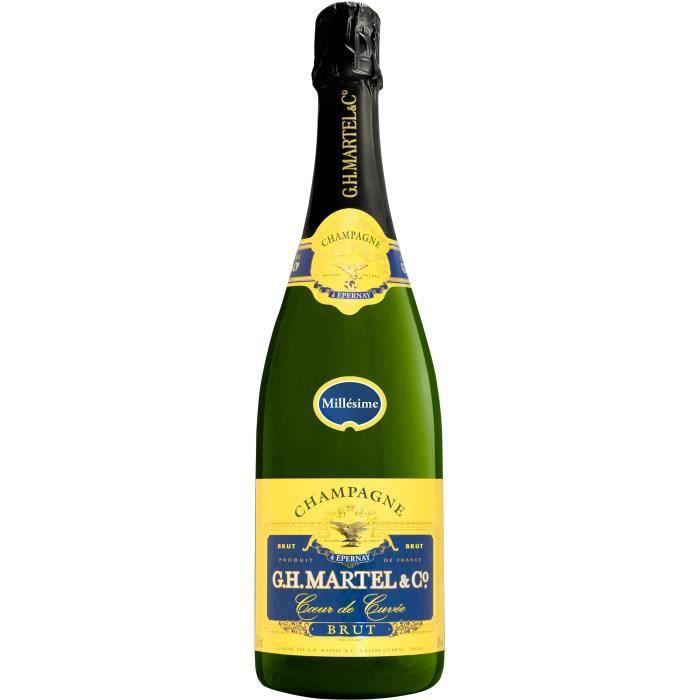 Champagne GH Martel Millésimé 2012 - 75 cl