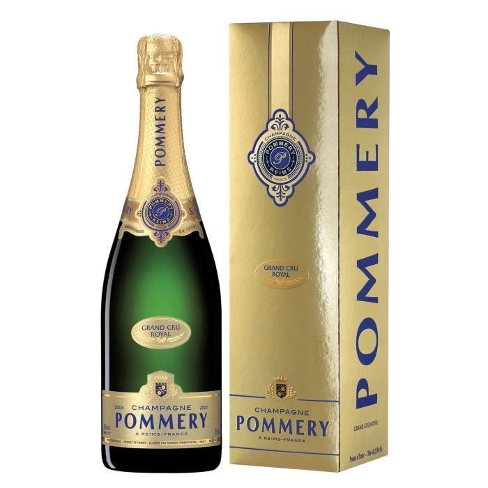 Champagne Pommery Grand Cru Millésimé 2006 avec étui