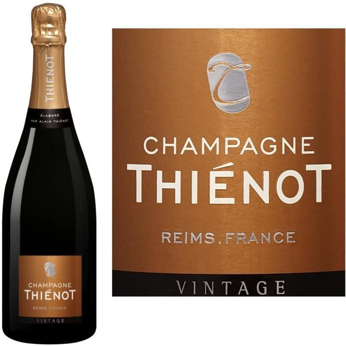 Champagne Thienot Millésimé - 75 cl