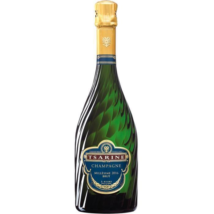 Champagne Tsarine Brut Millésimé - 75 cl