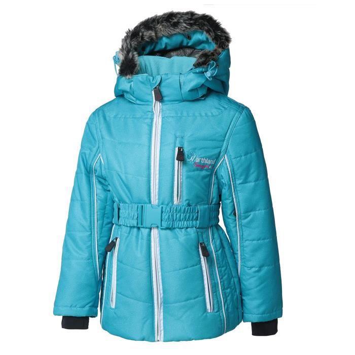 NORTHLAND Blouson de ski Fille Kamille - Turquoise