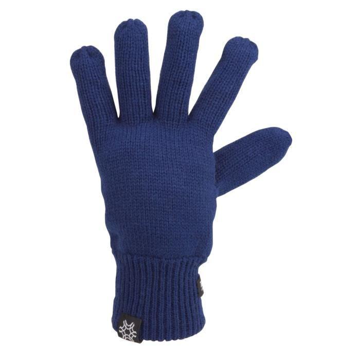 STARLING Gants Acrylique chauds et confortables - Mixte - Marine