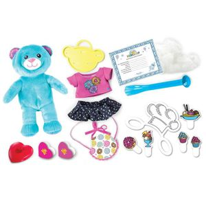 BUILD A BEAR Kit 1 Peluche Baking Bear + Costume