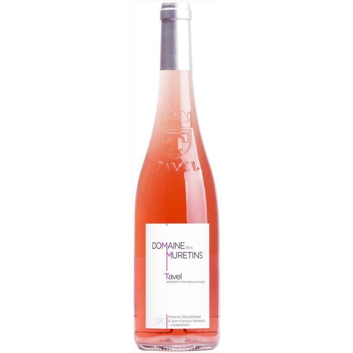 Domaine des Muretins 2019 Tavel - Vin rosé de la Vallée du Rhône