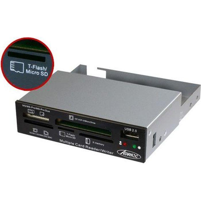 Advance Lecteur de cartes flash interne Version Oem Cr 10Int
