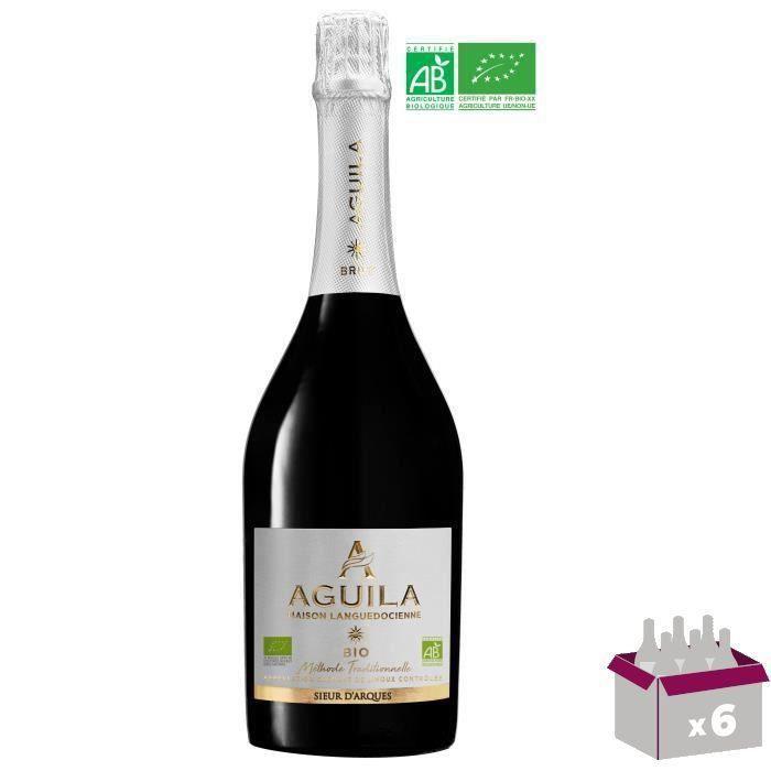 Aguila Crémant de Limoux - Vin blanc de Languedoc-Roussillon - Bio