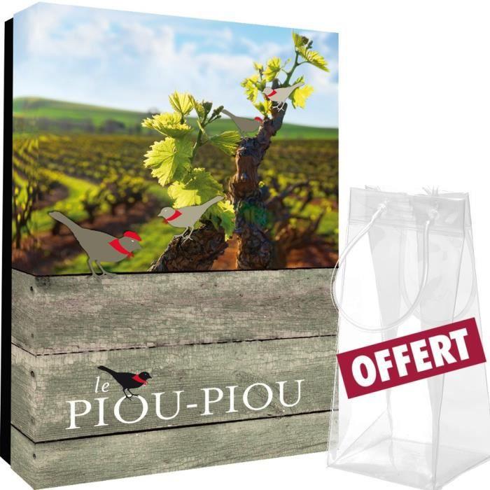 coffret vide Piou Piou 2 Bouteilles + rafraichisseur