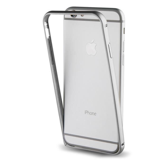 Muvit Bumper Argent pour Apple iPhone 7