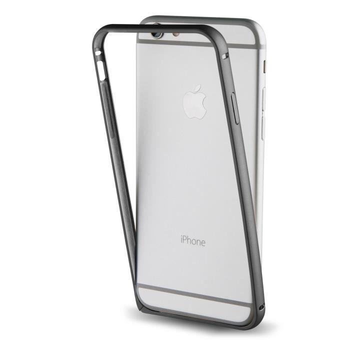 Muvit Bumper Noir pour Apple iPhone 7