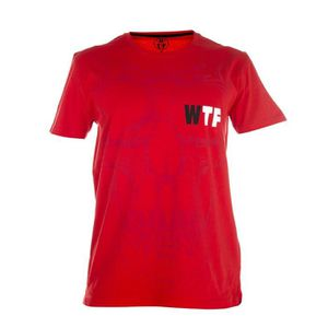 WTF T-shirt Homme Death - Rouge