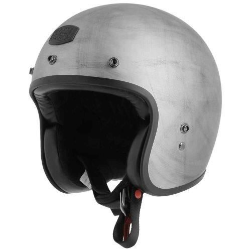 ASTONE Casque Jet Bellair - Gris sombre