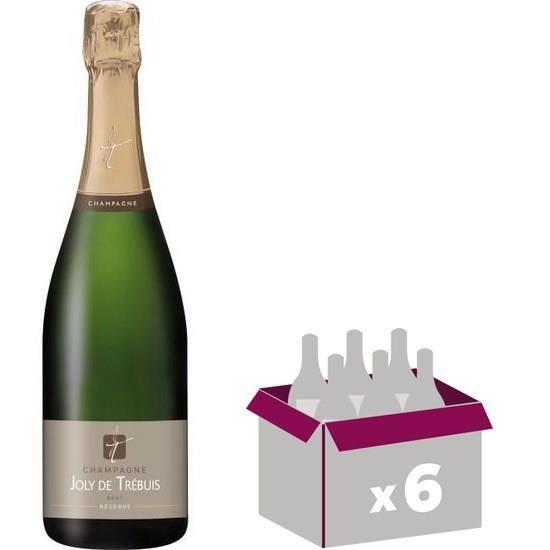 Champagne Joly de Trébuis x6