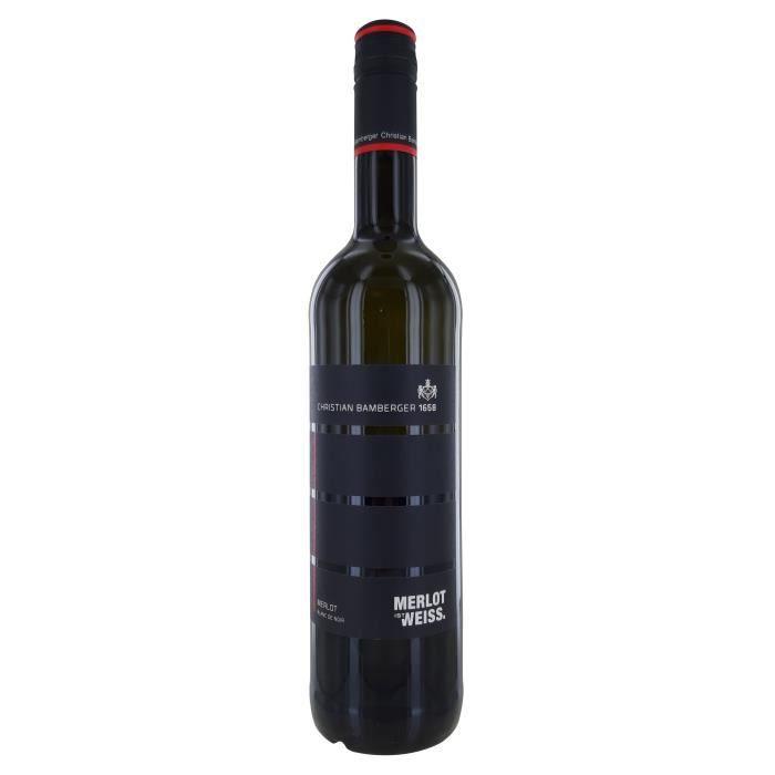 Christian Bamberger 2015 Merlot Ist Weiss - Vin Blanc d'Allemagne