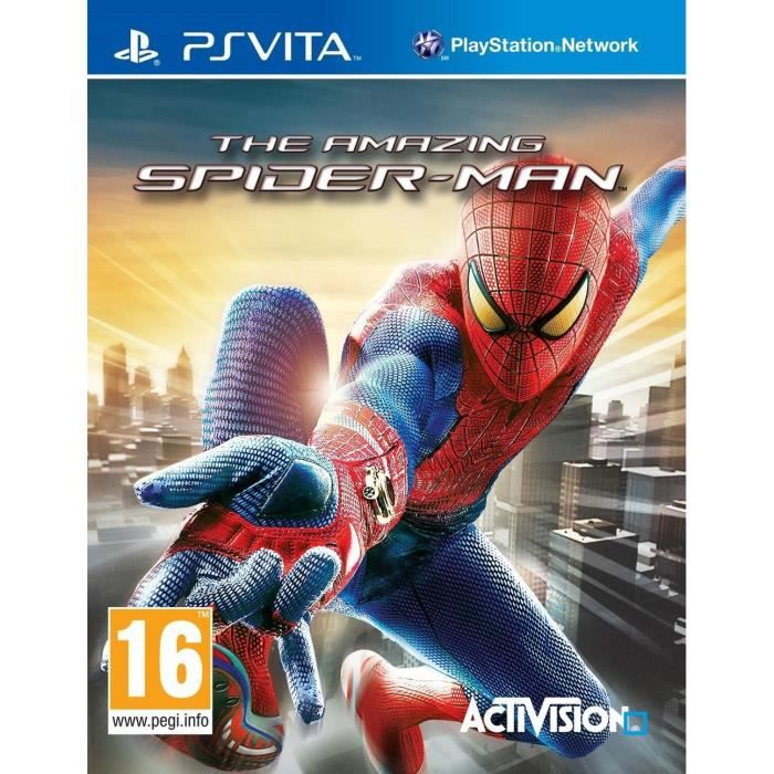 The Amazing Spider-Man Jeu PS Vita