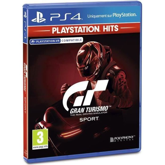 Gran Turismo Sport PlayStation Hits Jeu PS4