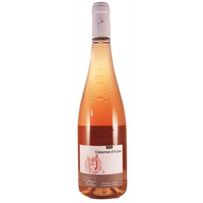 Domaine des Deux Vallées 2019 Cabernet D'Anjou - Vin rosé de la Loire
