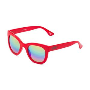 VANS Lunette de soleil Catch Ya Later - Mixte - Rouge