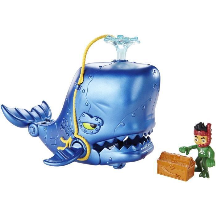 FISHER-PRICE - Friends Jake et la Baleine - Figurine animation