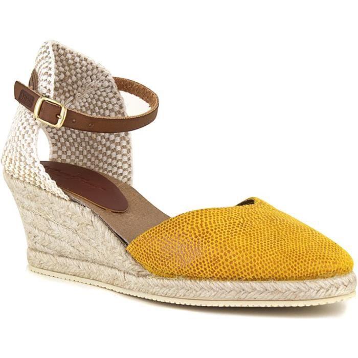 J.BRADFORD Chaussures Espadrilles JB-Judua Jaune Femme