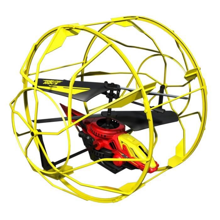 AIRHOGS Rollercopter Radiocommandé Jaune