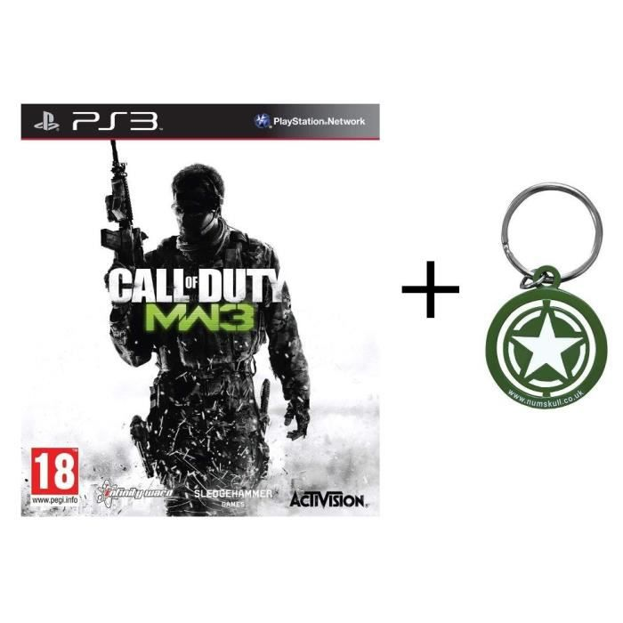 Bundle Call of Duty PS3 + porte clé
