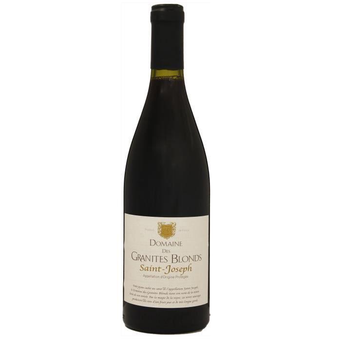 Domaine des Granites Blonds 2016 Saint-Joseph - Vin rouge du Vallée du Rhône