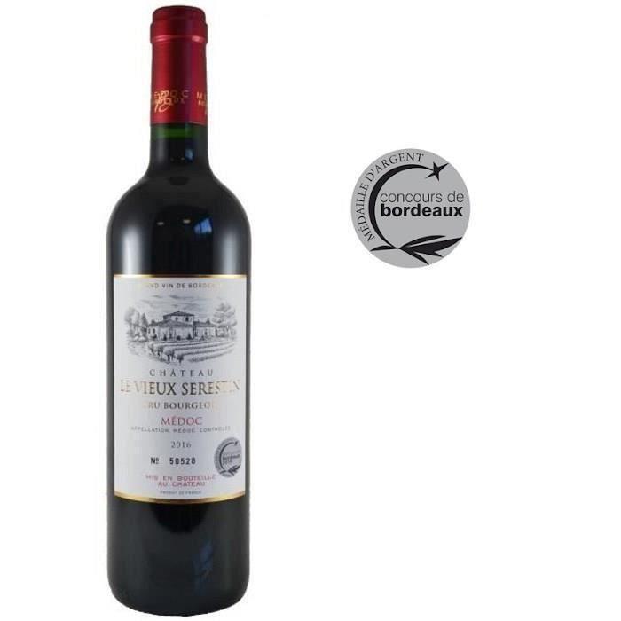 Château Le Vieux Sérestin 2016 Médoc Cru Bourgeois - Vin rouge de Bordeaux