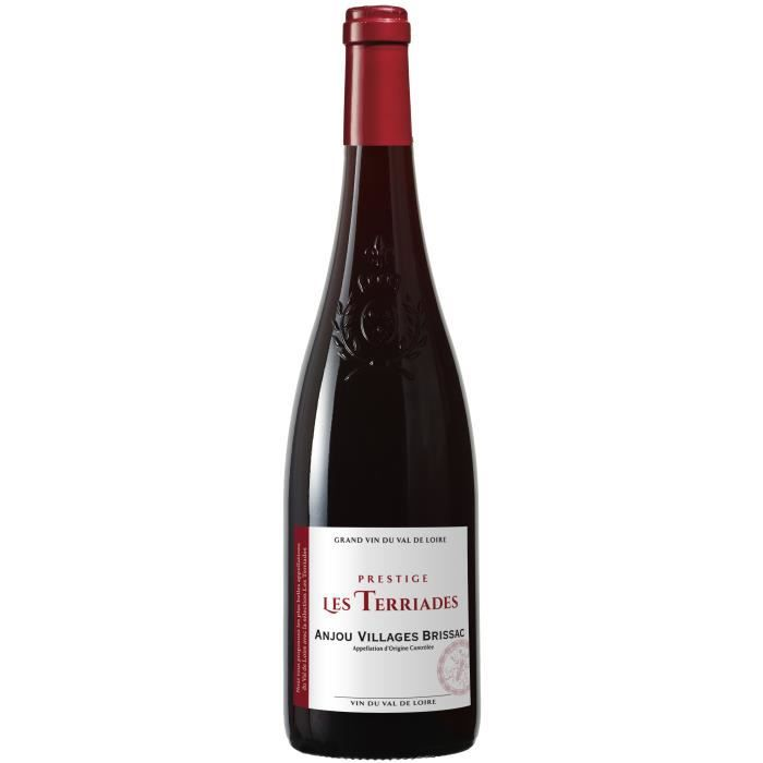 Prestige Les Terriades 2013 Anjou Villages Brissac Grand vin - Vin rouge de la Val de Loire