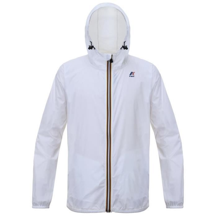 K-WAY Coupe-vent - Homme - Blanc