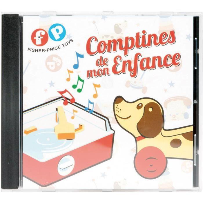 FISHER PRICE- CD de comptines