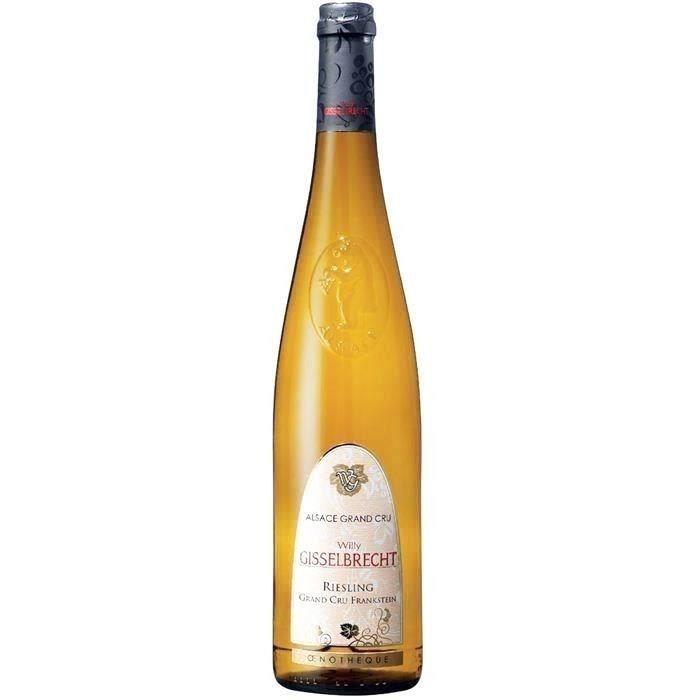 Gisselbrecht Riesling Grand cru Frankstein - Vin blanc d'Alsace