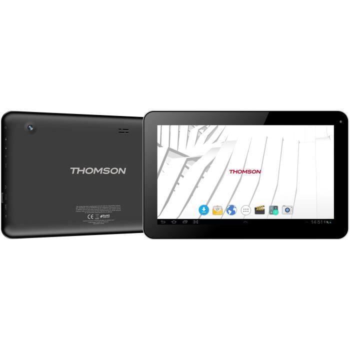 Thomson Tablette Teo10 Teo10bk16cd Ecran 10,1 1Gb Ram Android 7.1 16 Gb Emm Noir