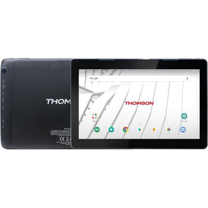 THOMSON Tablette TEO13 - TEO13PRK2BK32 - Ecran 13,3'' FULL HD 1920 x 1080 IPS - 2Gb RAM - Android 8.1 - 32 Gb eMMC - Noir