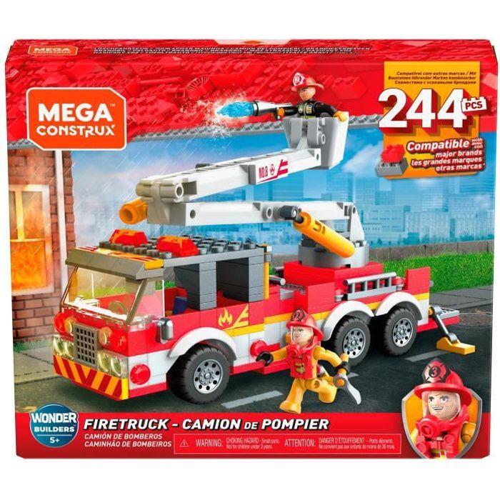 MEGA CONSTRUX Camion de Pompier - 244 pièces