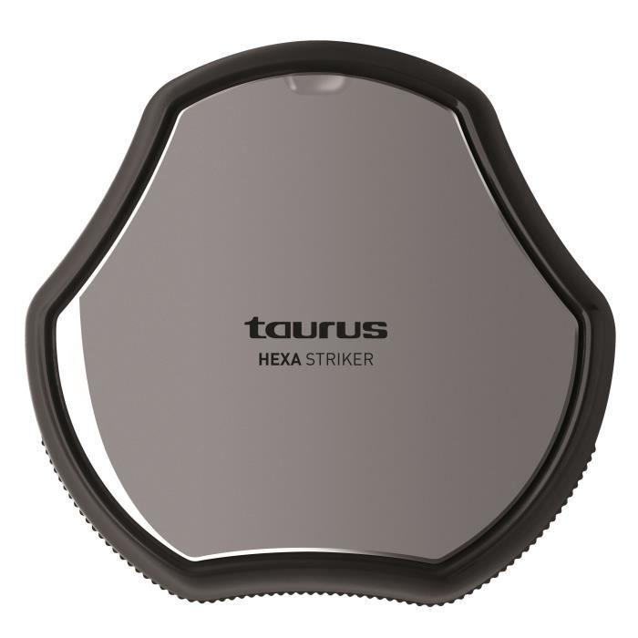 TAURUS 948199000 Aspirateur robot Hexa Striker - 9,6W - 40 dB - Noir