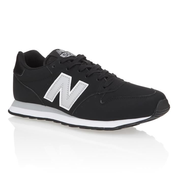 NEW BALANCE Baskets GM500 Homme - Noir et gris