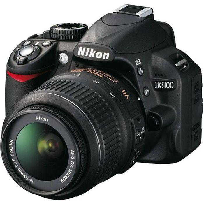 NIKON D3100 + AF-S DX 18-55 VR Reflex