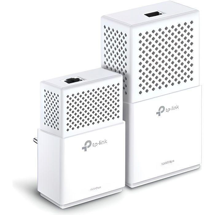 TP-LINK Kit de 2 CPL - 1 CPL Wifi 750 Mbits + 1 CPL filaire 1Gbit - WPA7510