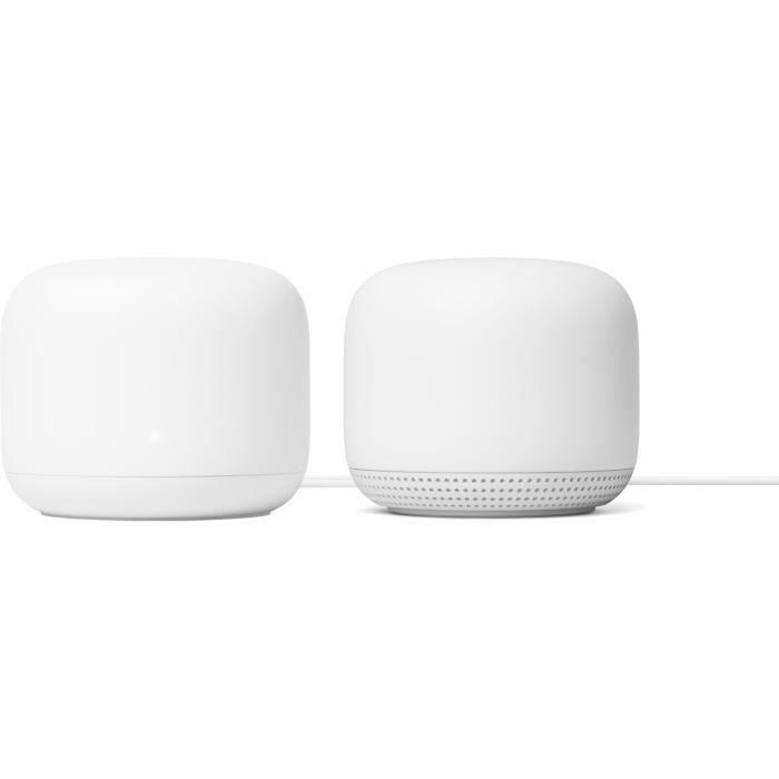 Routeur Wifi Nest WiFi + 1 point d'accès