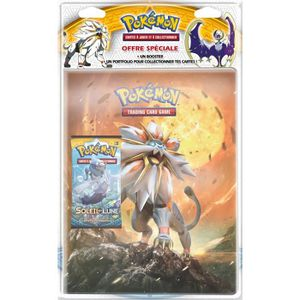 POKEMON Pack cahier range-cartes + booster \