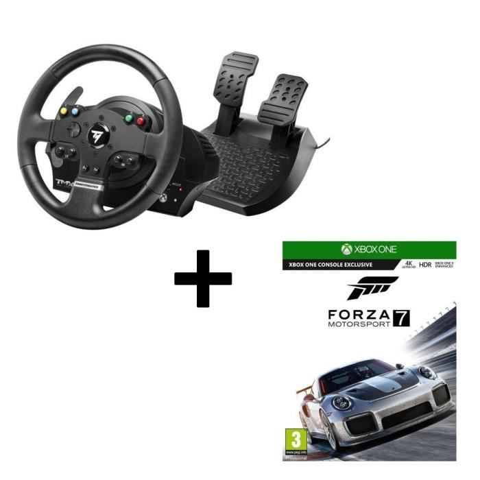 Pack Thrustmaster Volant TMX Force Feedback Xbox One et PC + Forza Motorsport 7 Jeu Xbox One