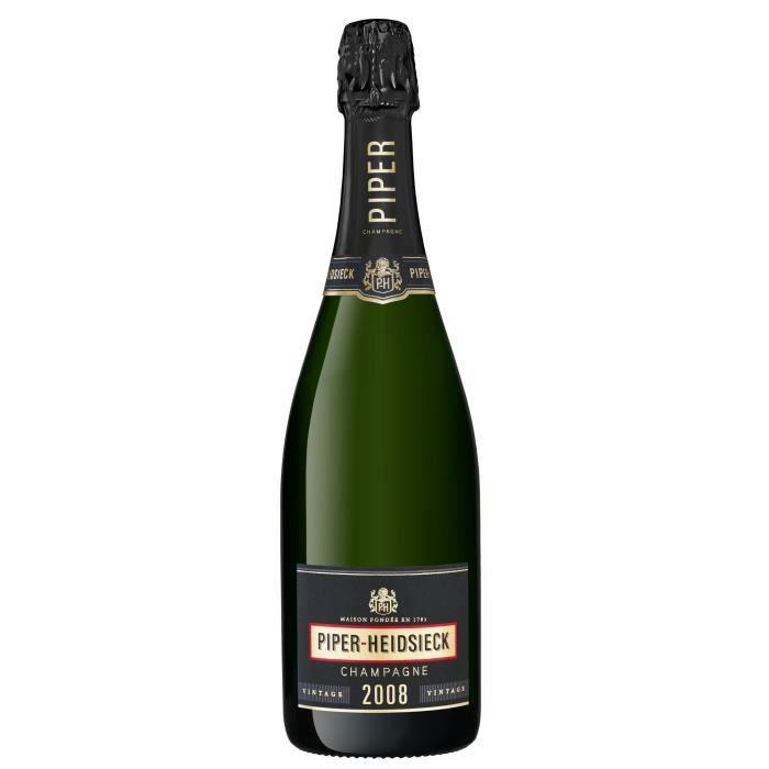 Champagne Piper Heidsieck Vintage Millésimé 2008 Brut - 75 cl