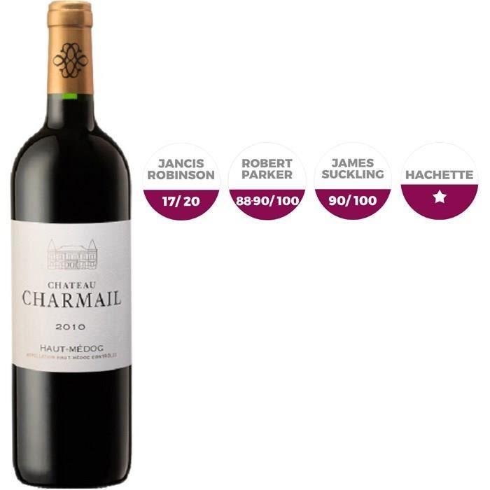 Château Charmail 2010 Haut-Médoc Cru Bourgeois - Vin rouge de Bordeaux