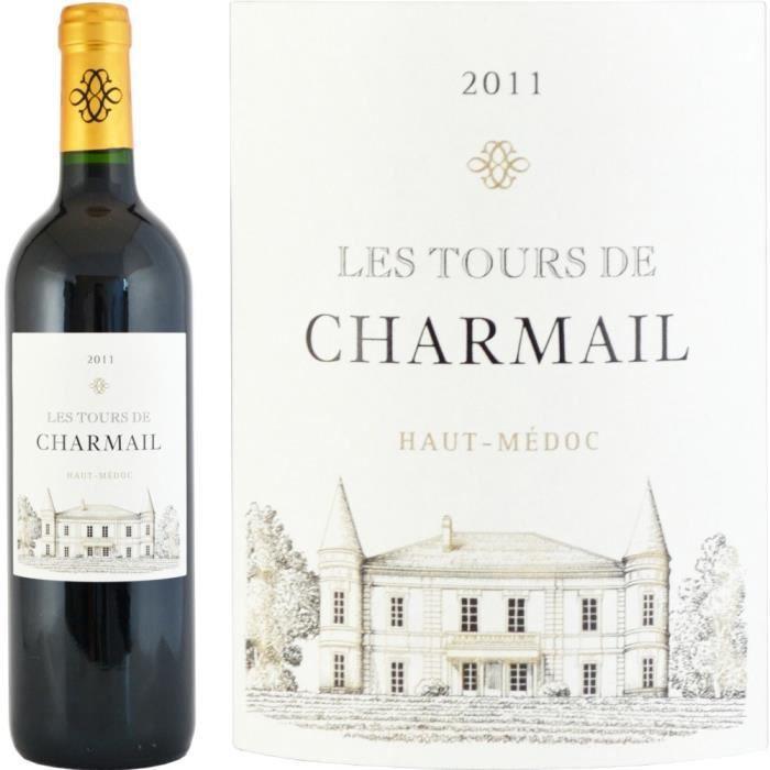 Les Tours de Charmail 2011 Haut-Médoc - Vin rouge de Bordeaux