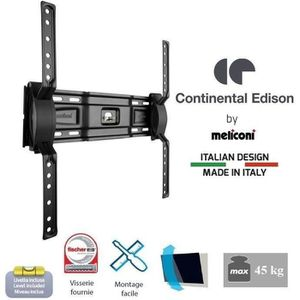 CONTINENTAL EDISON Support TV mural inclinable TV 40-65'' VESA 400*400